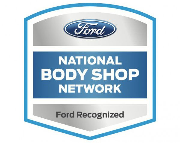 Ford National Body Shop Network logo